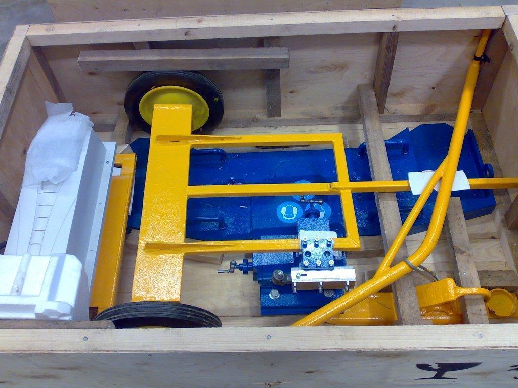 1ak200 compact universal portable wheel lathe